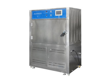 UV Accelerated Weathering Tester , Touch Screen Type Rubber UV Aging Test Chamber